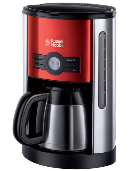 Cafetera Goteo Russell Hobbs rojo